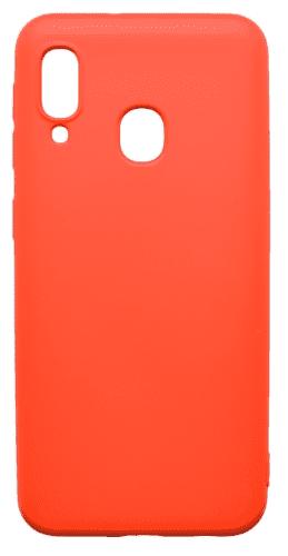 Mobilnet gumové pouzdro pro Samsung Galaxy A20e, červená