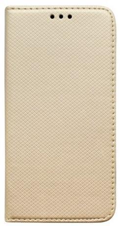 Mobilnet knížkové pouzdro pro Samsung Galaxy A71, zlatá