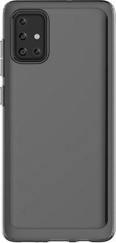 Samsung silikonové pouzdro pro Samsung Galaxy A71, černá