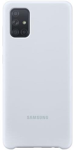 Samsung Silicone Cover pro Samsung Galaxy A71, stříbrná