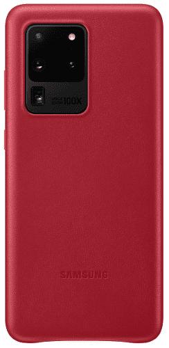 Samsung Leather Cover pouzdro pro Samsung Galaxy S20 Ultra, červená