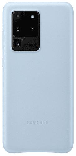 Samsung Leather Cover pouzdro pro Samsung Galaxy S20 Ultra, modrá