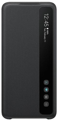 Samsung Clear View Cover pouzdro pro Samsung Galaxy S20, černá