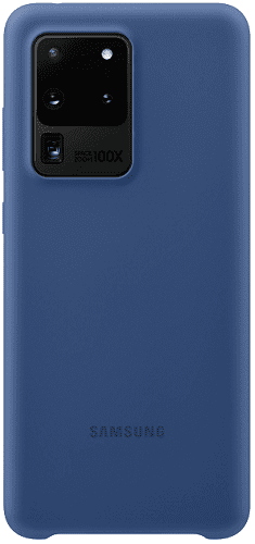 Samsung Silicone Cover pro Samsung Galaxy S20 Ultra, modrá