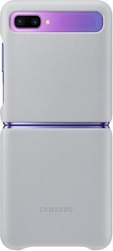 Samsung Leather Cover pro Samsung Galaxy Z Flip, bílá