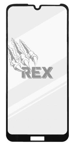 Sturdo Rex Premium Silver tvrzené sklo pro Huawei Y6s, černá