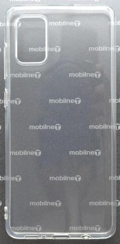 Mobilnet silikonové pouzdro pro Samsung Galaxy A71, transparentní