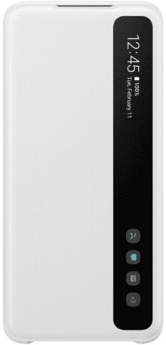 Samsung Clear View Cover pro Samsung Galaxy S20+, bílá