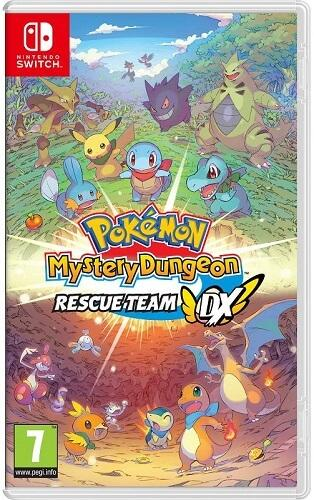 Pokémon Mystery Dungeon: Rescue Team DX - Nintendo Switch hra