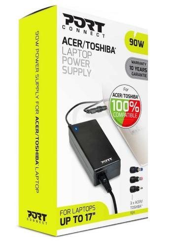 Port Designs 90W napájecí adaptér pro notebooky Acer/Toshiba
