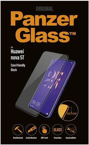 PanzerGlass 2,5D Case Friendly ochranné tvrzené sklo pro Huawei nova 5T, černá