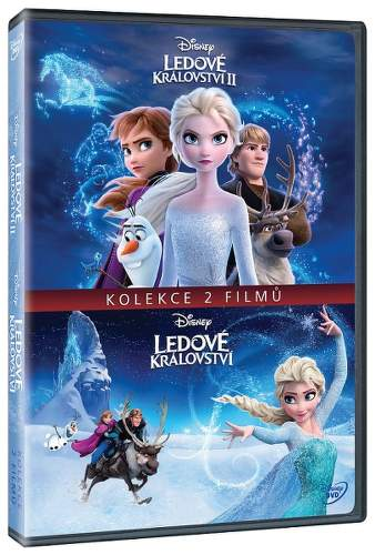 Ledové království kolekce 2x DVD