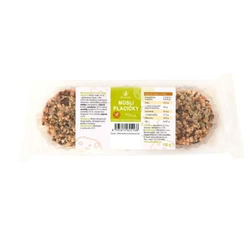 Allnature müsli placičky natur 120 g