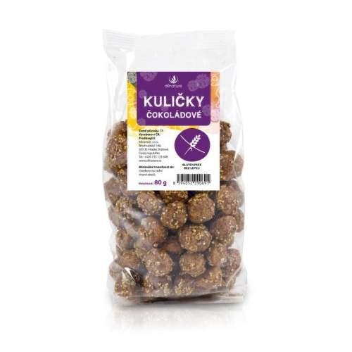 Allnature čokoládové kuličky 80 g