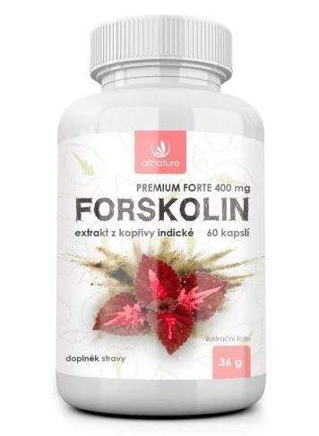 Allnature forskolin premium forte 400 mg 60 kapsul doplnok stravy
