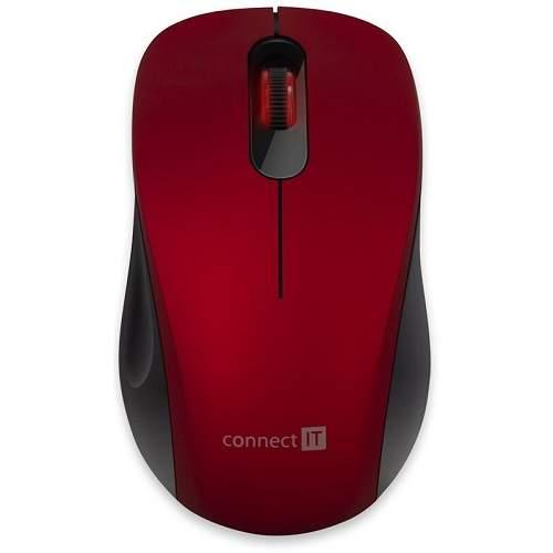 Connect IT Mute (CMO-2230-RD) červená