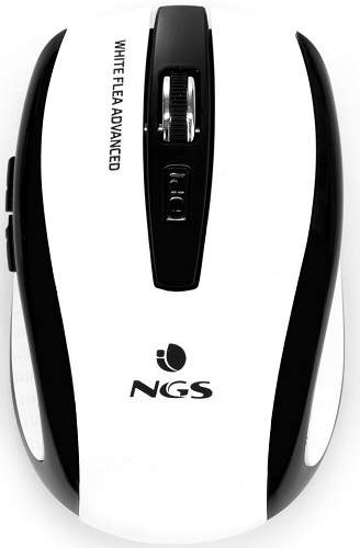 NGS Flea Advanced černo-bílá