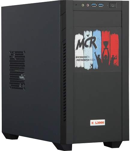 HAL3000 Gamer MČR 2020 PCHS2410 černý