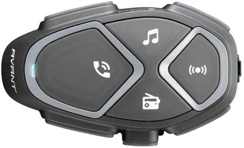 CellularLine Interphone Avant Single handsfree, černá