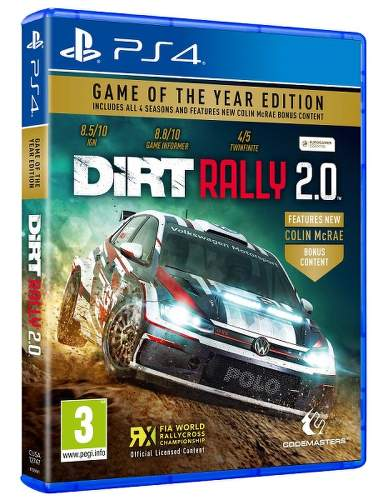 DiRT RALLY 2.0 Game of the Year Edition PS4 hra