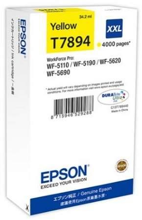 Epson T7894 XXL Yellow