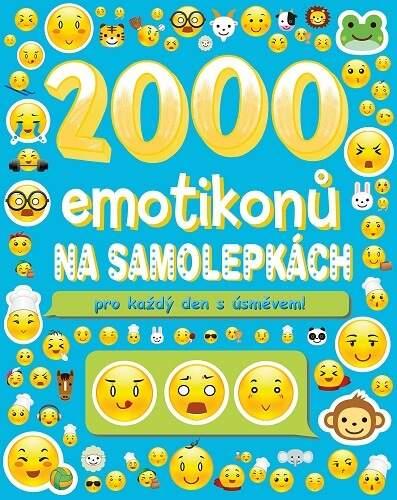 2000 emotikonů na samolepkách pro každý den s úsměvem