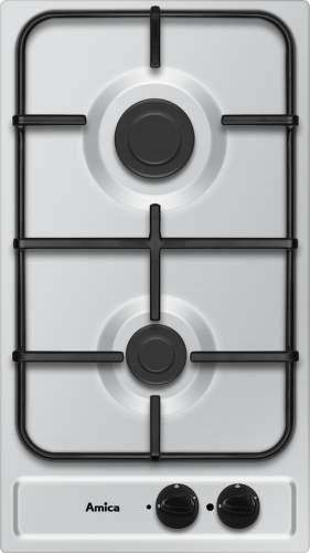 AMICA PG 3510 X, nerezová plynová varná deska