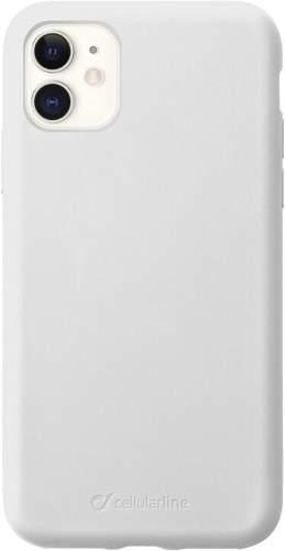 CellularLine Sensation silikonové pouzdro pro Apple iPhone 11, bílá