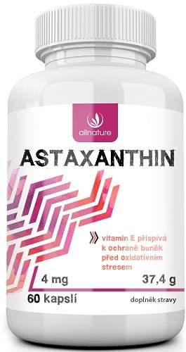 Allnature astaxanthin vitamíny 60 tablet