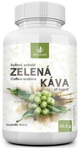 Allnature zelená káva 1000 mg