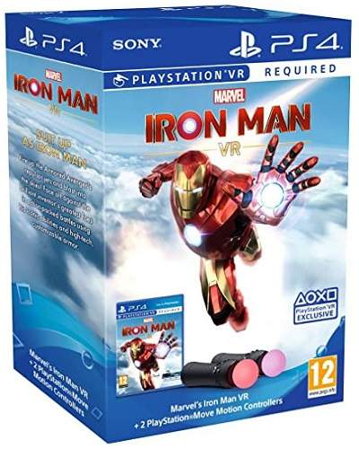 Marvel's Iron Man VR + PS4 Move Twin Pack