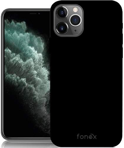 Fonex TPU pouzdro pro Apple iPhone 11 Pro, černá