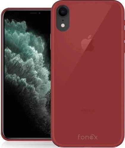 Fonex Gommy pouzdro pro Apple iPhone Xr, červená