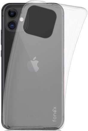 Fonex TPU pouzdro pro Apple iPhone 11, transparentní