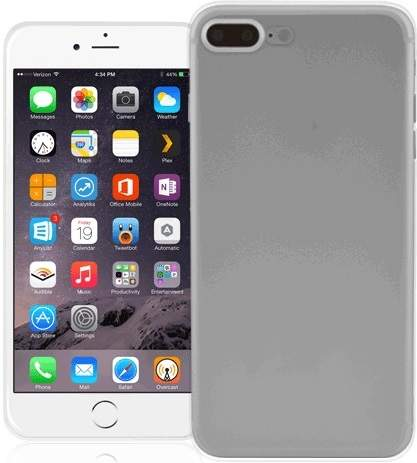 Fonex TPU pouzdro pro Apple iPhone 8+/7+, transparentní
