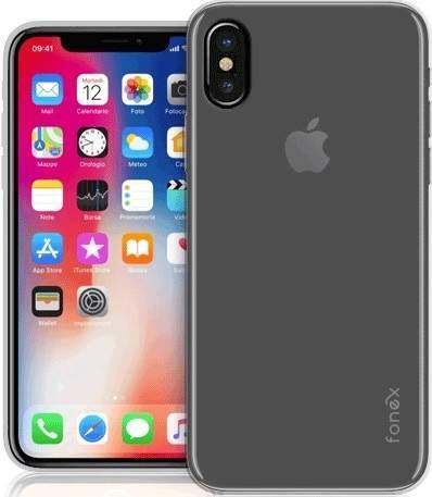 Fonex TPU pouzdro pro Apple iPhone X/Xs, transparentní