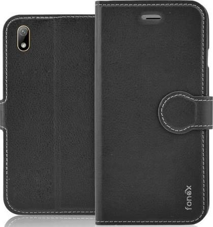 Fonex Identity flipové pouzdro pro Huawei Y5 2019, černá