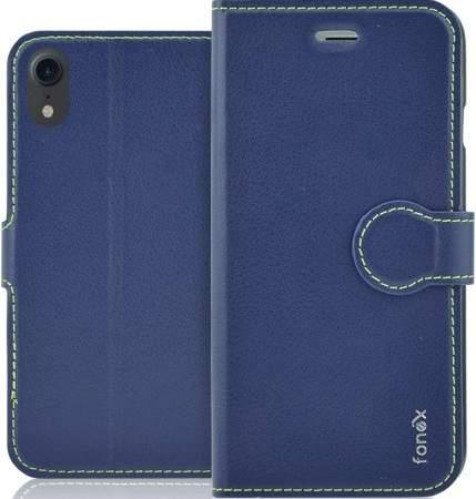 Fonex Identity flipové pouzdro pro Apple iPhone Xr, modrá