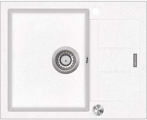Concept DG05C45WH dřez bílý