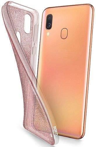 SBS pouzdro TPU pro Samsung Galaxy A20e zlatá