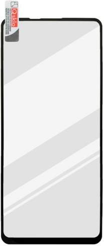 Mobilnet 2,5D skleněná folie pro Samsung Galaxy A21s, černá