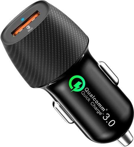 Inhouse MKF-QC3USB 1x USB autonabíječka QC 3.0, černá