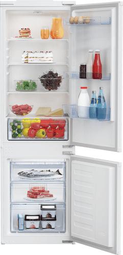 Beko BCSA285K4SN vestavná kombinovaná lednička