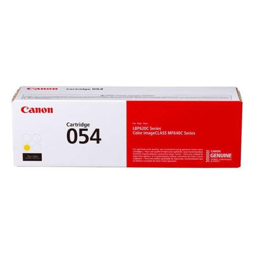 Canon 054 yellow
