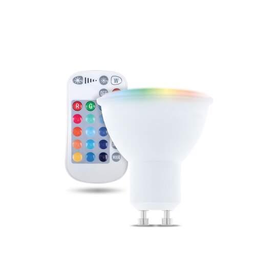FOREVER GU10 RGB RC 5W, LED žiarovka