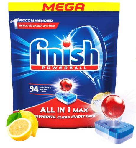 Finish AllIn1 Max Lemon 94 ks tablety do myčky