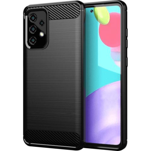 Winner Carbon puzdro pre Samsung Galaxy A52 / A52 5G čierna