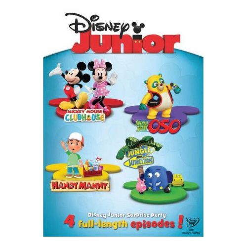 DVD F - Disney Junior: Příběhy s překvapením