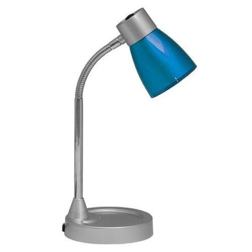 ECOPLANET Lampa stolná na R50/E14/25W modrá