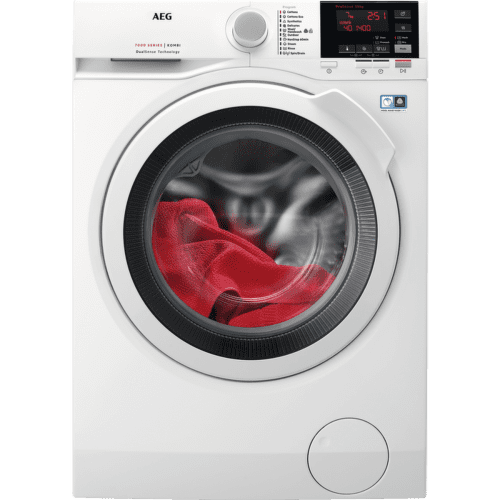 AEG L7WBG47W, bílá pračka se sušičkou